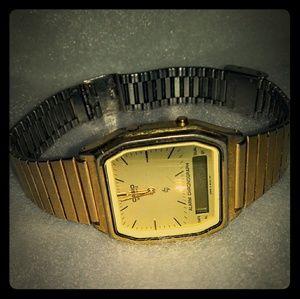 Vintage Casio Alarm Chronograph Watch